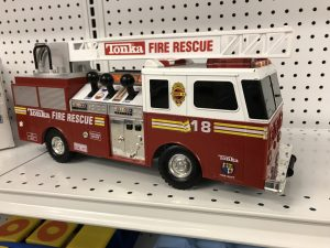 A fun used fire truck for sale at Sauk Centre STEP