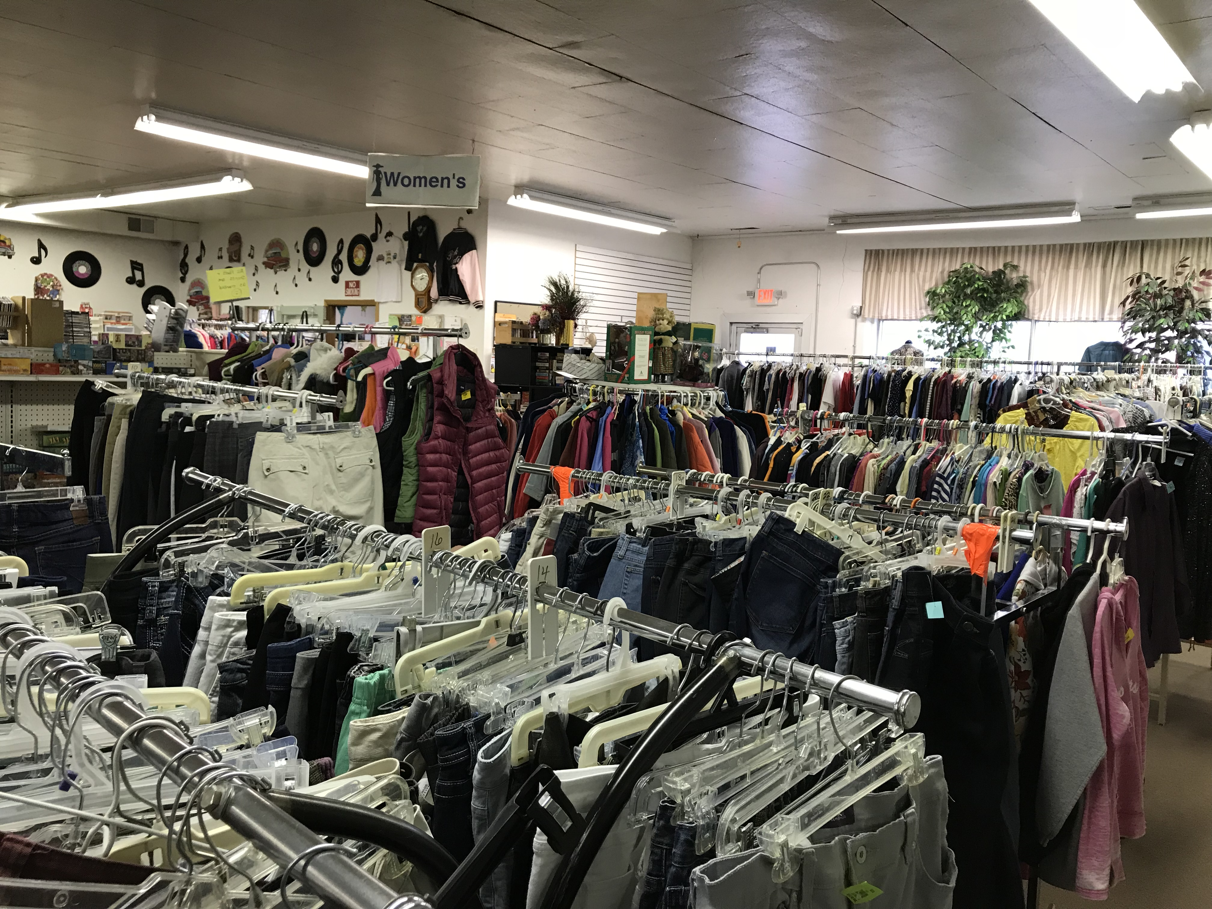 Step clothing store